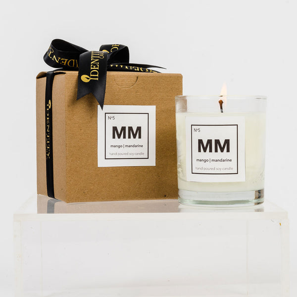 No. 7 - Vanilla Bergamot - Identity Candles