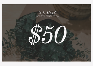 ID Candles Co Gift Card