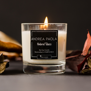 Ambered Tobacco Soy Candle
