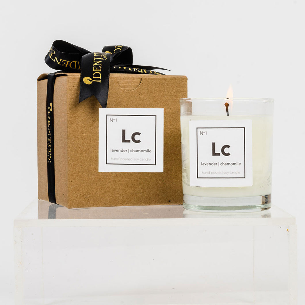 No. 1 - Lavender Chamomile - Identity Candles