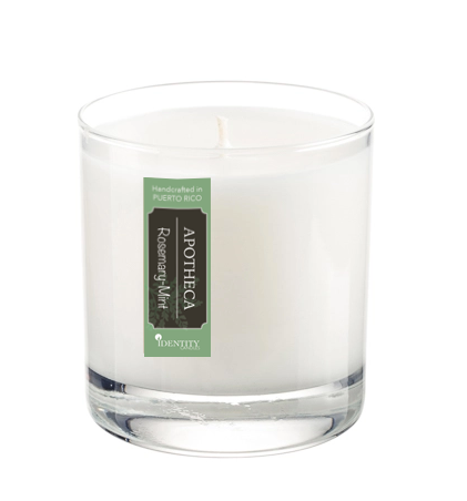 Rosemary-Mint Soy Candle