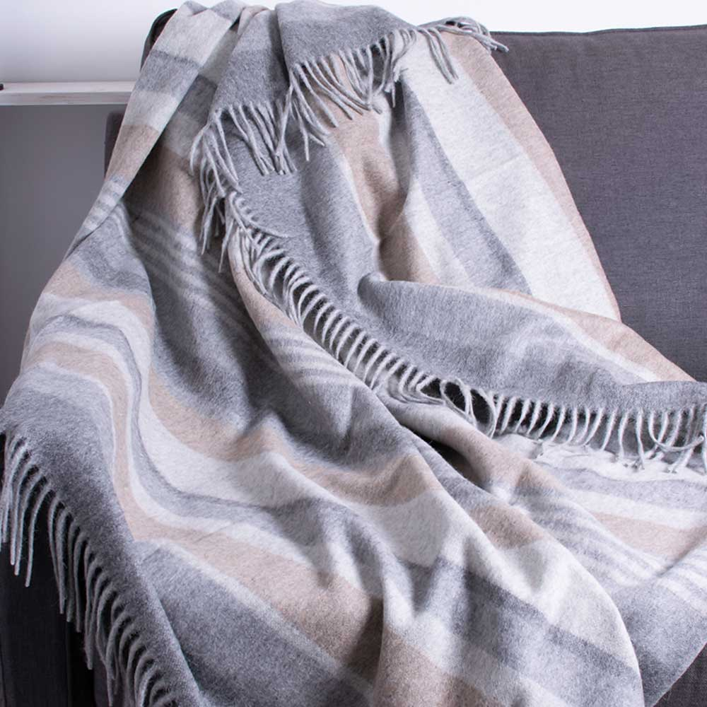 Alpaca Blanket, free delivery UK