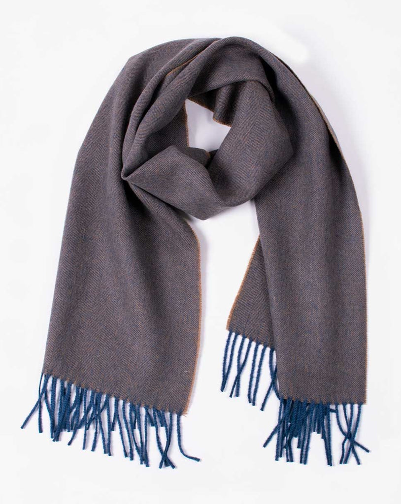 vavy alpaca scarf, free delivery in the uk