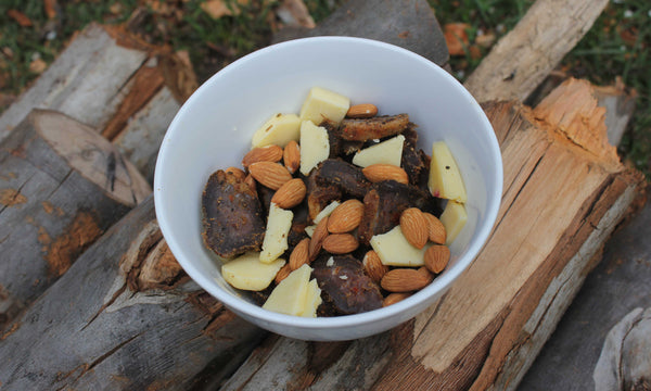Biltong, Almonds & Tasty Cheese