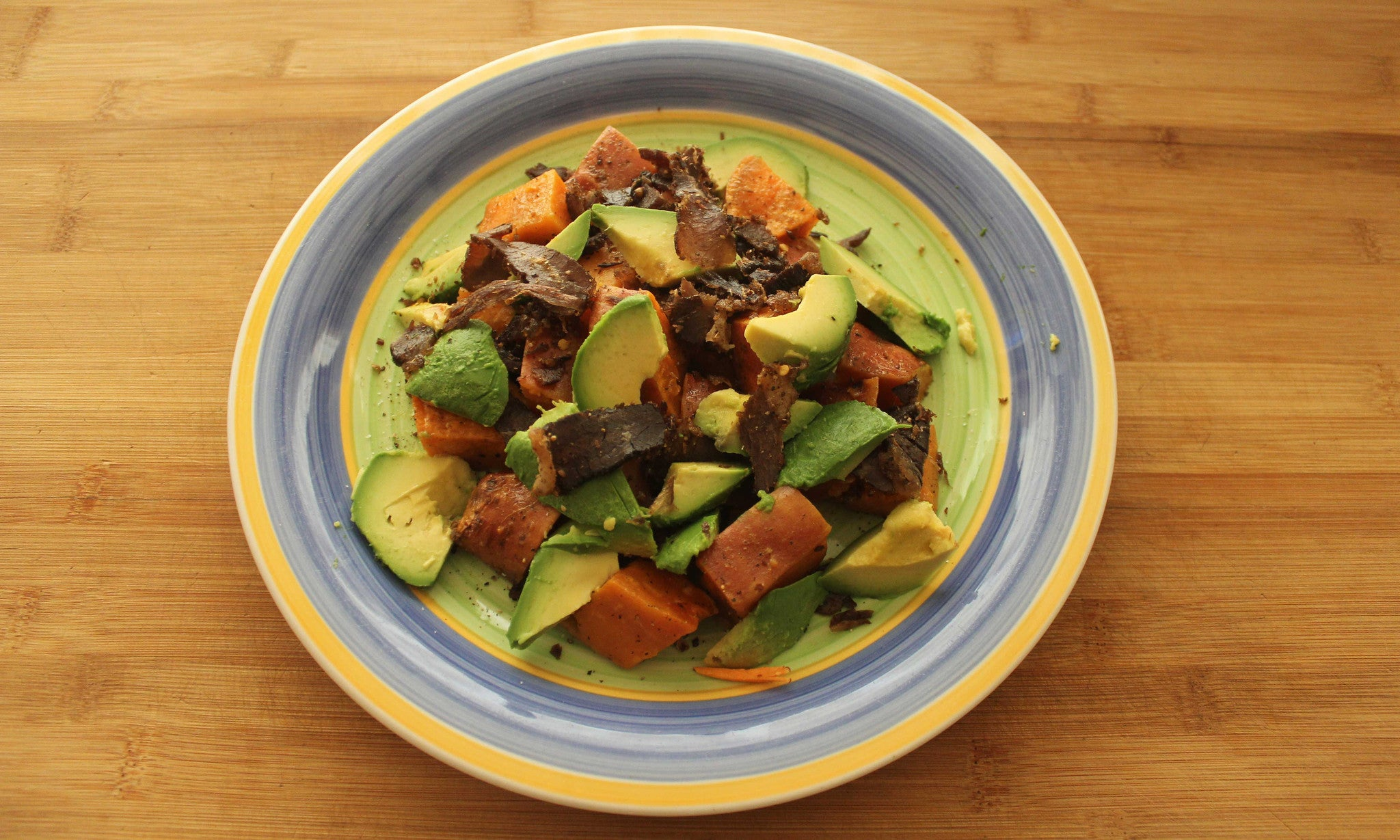 Sweet Potato, Avocado, & Biltong