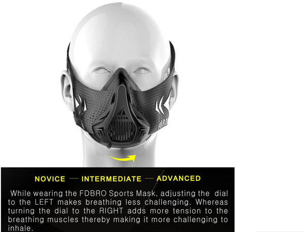 FDBRO High Altitude Training Mask 3.0