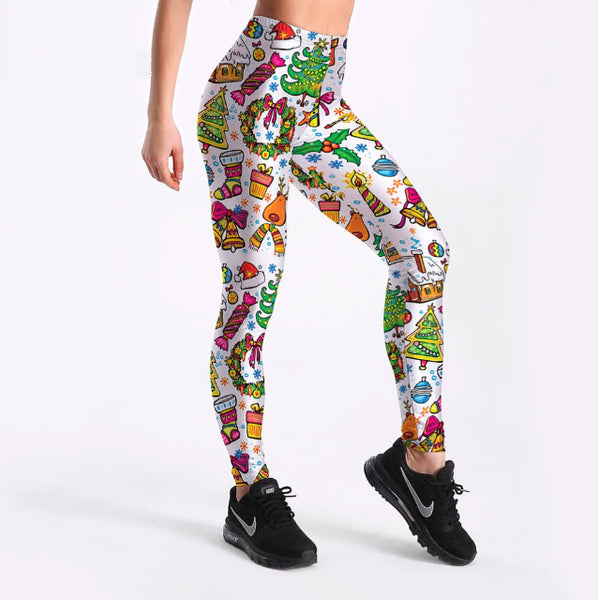 2019 Christmas Leggings Candy