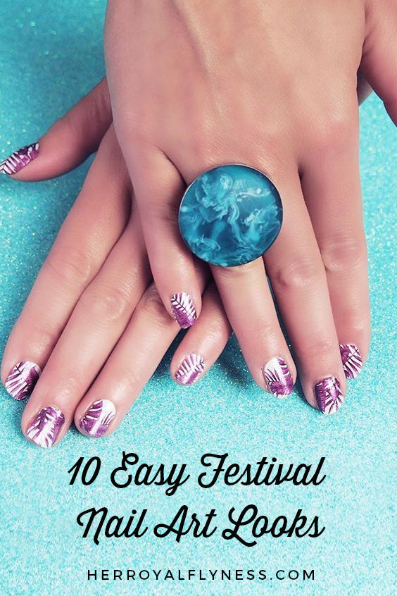10 Easy Festival Nail Art Looks