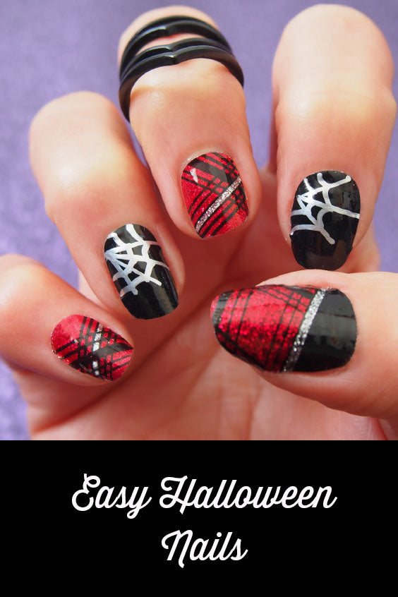 Fast and Fab Halloween Nails without Nail Polish