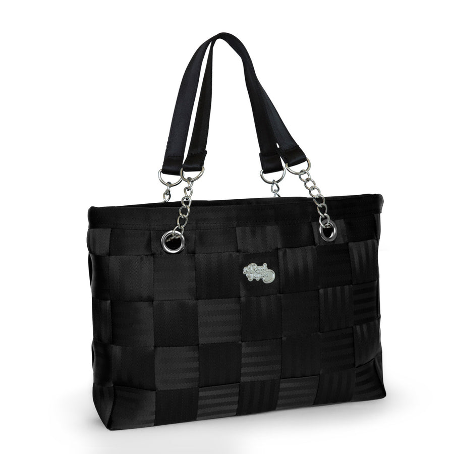 BLACK ON BLACK Seatbelt bag, Handbags,Handbags - Non leather,  - Her Royal Flyness