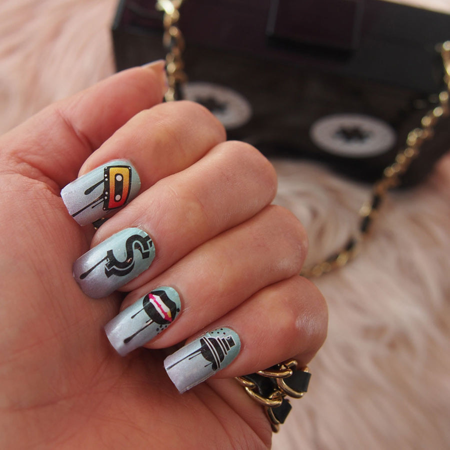 DRIP HOP Nail wraps – Her Royal Flyness