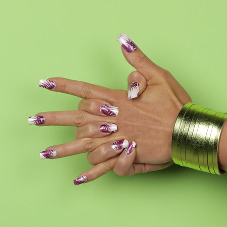 Nail wraps - Her Royal Flyness
