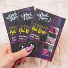 FAN DANCE Glitter Nail Wraps, Nail wraps,  - Her Royal Flyness