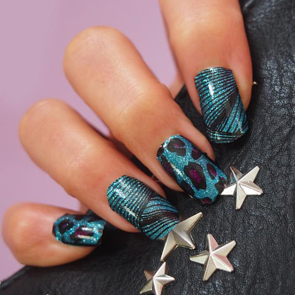 LIVE OUT LOUD Nail Art Wraps – Her Royal Flyness