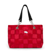RUBY WITH BLACK Seatbelt bag, Handbags,Handbags - Non leather,  - Her Royal Flyness
