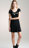 R+J Black 'Dreaming Of You' Dress
