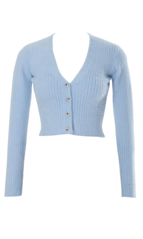 POWDER BLUE CARDIGAN