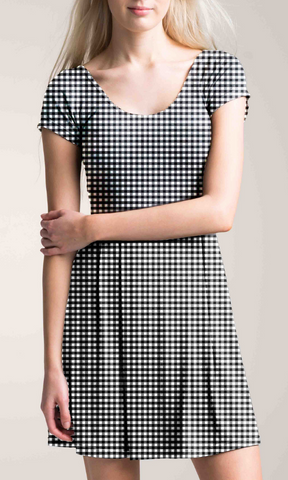 GINGHAM 'POST WORKOUT' DRESS
