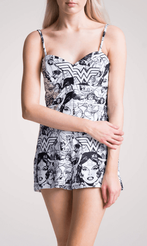 WONDER WOMAN PLAYSUIT