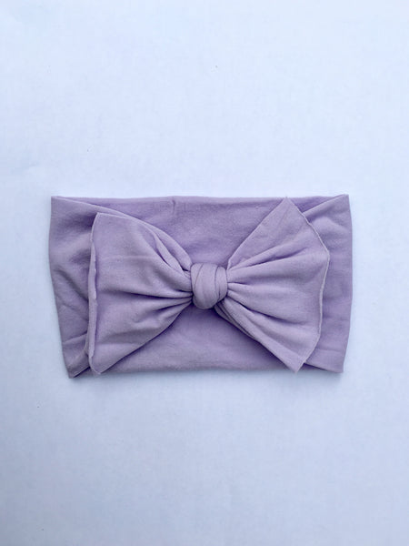 Lovely Lavender Babette Bow