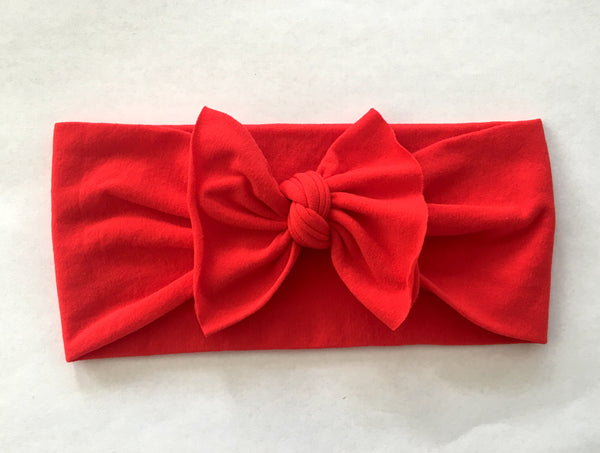 Ruby Red Babette Bow
