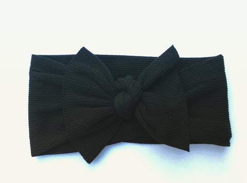 Bella Black Babette Bow