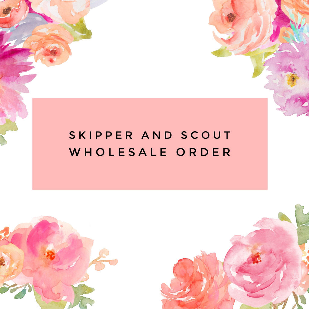 Wholesale Order: Sweet June Boutique