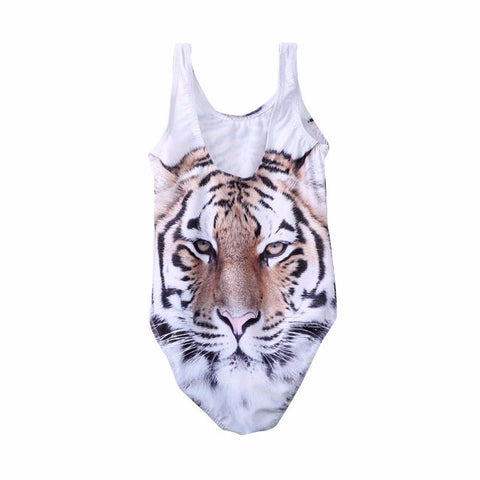 Baby Girls Tiger One Piece Swimsuit