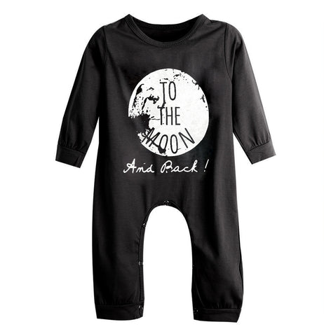 "Baby Romper ""TO THE MOON"""