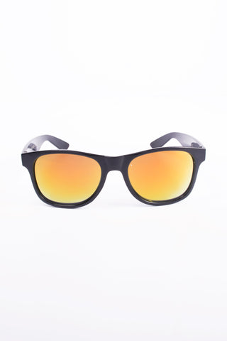 Kids Fashion Black Orange Sunglasses with UV 400 lens