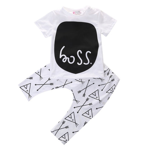 "Baby 2 Piece Set ""Boss"""