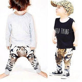 Baby Toddler Tiger Print Sweatpant Bottoms