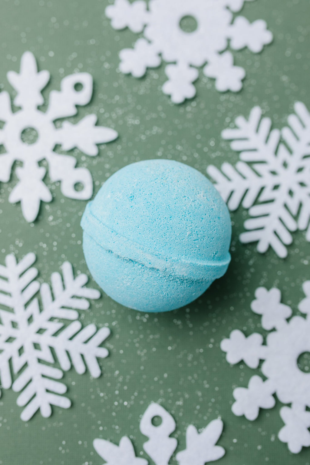 Cottage Garden Bath Bomb in Blue Christmas-11-19-2020, Accessories, BFCM2020, Group A, Group B, Group C, Group X, Holiday Gifts-Womens Artisan USA American Made Clothing Accessories