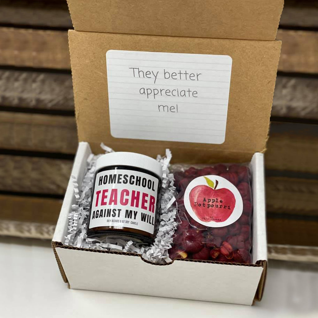 Teacher Gift Boxes--Womens Artisan USA American Made Clothing Accessories