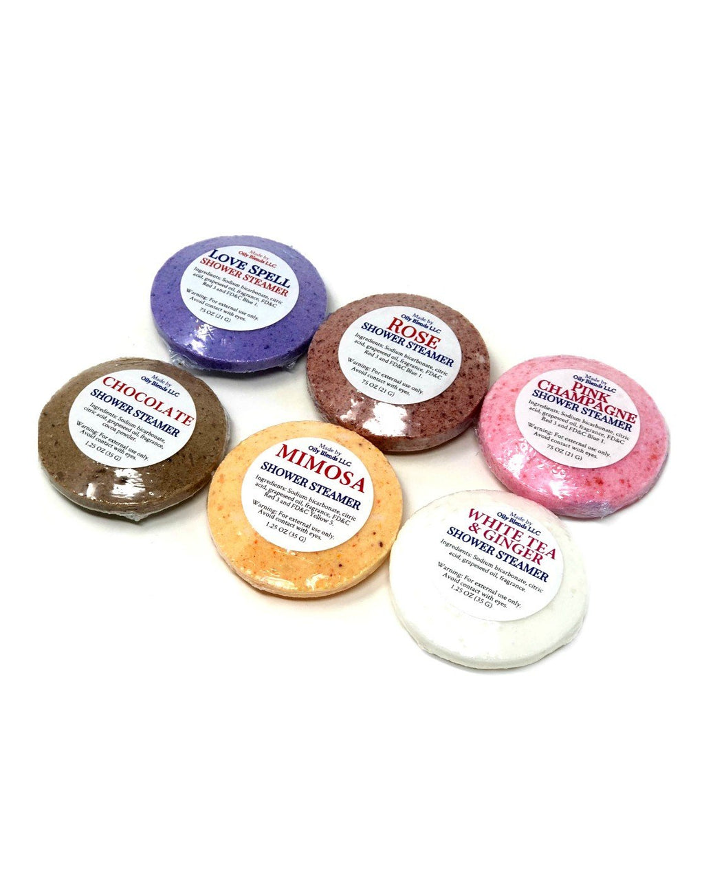 Valentines Shower Steamers--Womens Artisan USA American Made Clothing Accessories