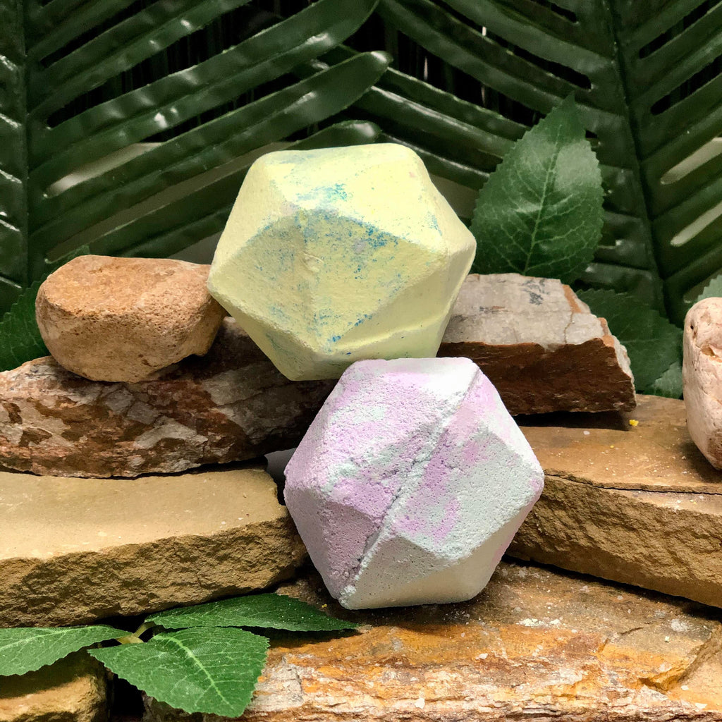 Geo Prism Bath Bomb-Bath & Body, Bathbomb, body, Dirty Bee, Dropship, fizz, geo prism-Womens Artisan USA American Made Clothing Accessories