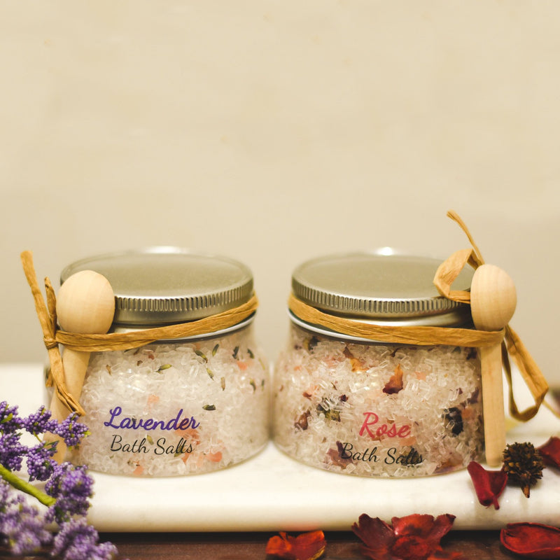 SPA SALTS made with essential oils--Womens Artisan USA American Made Clothing Accessories