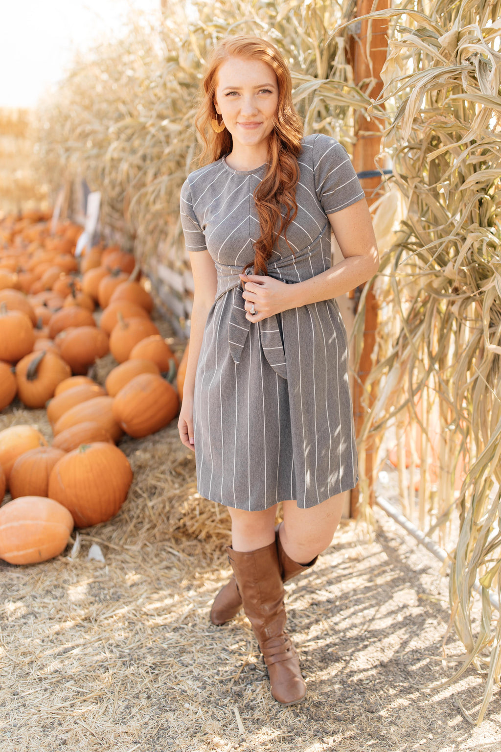 Angles And Stripes Dress in Gray-10-29-2020, 11-6-2020, 1XL, 2XL, 3XL, BFCM2020, Bonus, Dresses, Final Few Friday, Group A, Group B, Group C, Group D, Group V, Group W, Large, Made in the USA, Medium, Small, XL, XS-Womens Artisan USA American Made Clothing Accessories