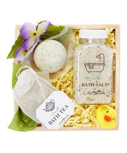Essential Oil Bath Collection Gift Sets-Breathe-Womens Artisan USA American Made Clothing Accessories