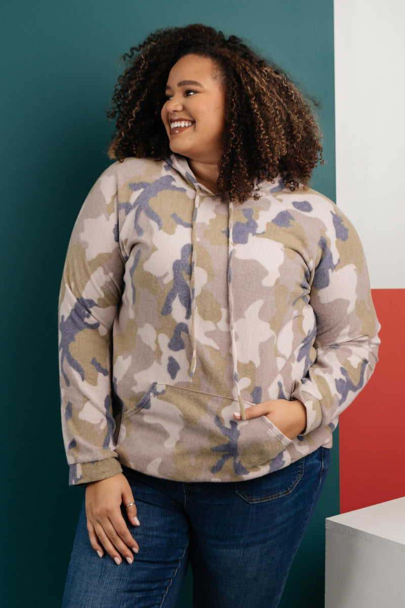 Brushed Camouflage Top-1-7-2021, 1XL, 2XL, 3XL, Group A, Group B, Group C, Group X, Group Z, Large, Medium, Small, Tops, XL, XS-Womens Artisan USA American Made Clothing Accessories