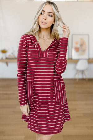 Casually Dressed Up Dress in Burgundy-11-19-2020, 11-24-2020, 1XL, 2XL, BFCM2020, Bonus, Dresses, Gr, Group A, Group B, Group C, Group V, Large, Medium, Small, XL-Womens Artisan USA American Made Clothing Accessories