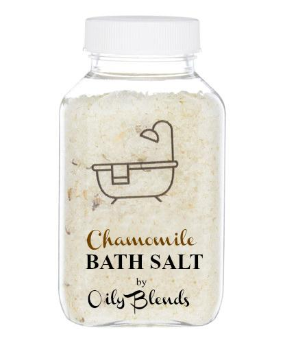 Essential Oil 6 oz Bath Salts-Chamomile-Womens Artisan USA American Made Clothing Accessories