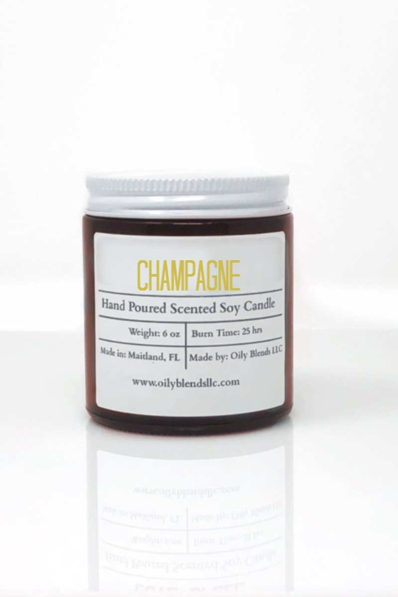 Romance Candles - 6 oz-Candles, Gifts-Champagne-Womens Artisan USA American Made Clothing Accessories