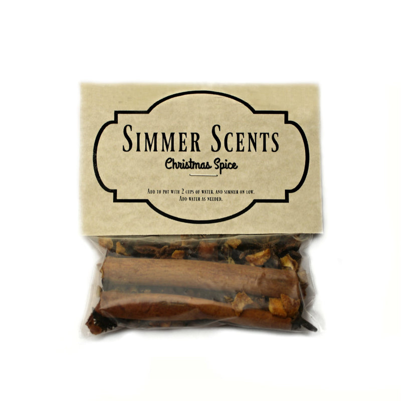 Simmer Scents-Christmas Spice-Womens Artisan USA American Made Clothing Accessories