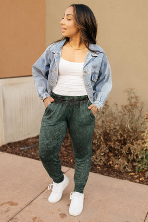 Cozy Joggers in Hunter Green-12-10-2020, 1XL, 2XL, 3XL, Bottoms, Group A, Group B, Group C, Group U, Group X, Group Y, Group Z, Large, Made in the USA, Medium, Small, XL, XS-Womens Artisan USA American Made Clothing Accessories