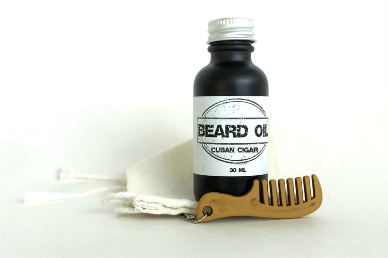 Beard Oil Gift Set | 10 Scents Available-beard, Beard Oil, essential oil, facial hair, movember-Cuban Cigar-Womens Artisan USA American Made Clothing Accessories