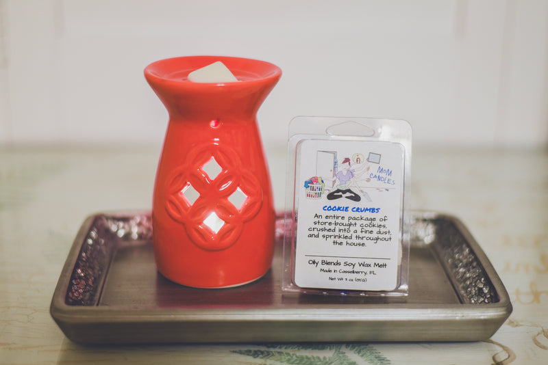 Mom Wax Melt Sampler PLUS Warmer--Womens Artisan USA American Made Clothing Accessories
