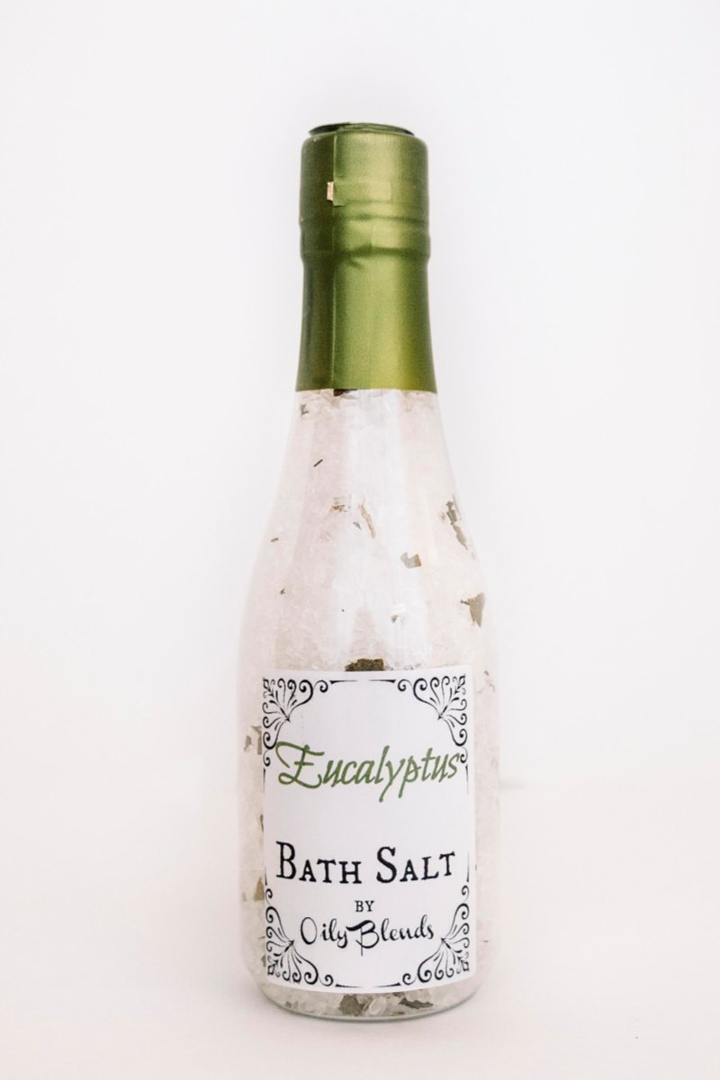 Essential Oil and Herb Bath Salts-Eucalyptus-Womens Artisan USA American Made Clothing Accessories