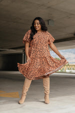 Fall Fancy Tiered Dress In Sunrise-10-2-2020, 1XL, 2XL, 3XL, 9-22-2020, Bonus, Dresses, Group A, Group B, Group C, Group D, Group S, Group T, Group V, Large, Made in the USA, Medium, Plus, Small, XL, XS-Womens Artisan USA American Made Clothing Accessories