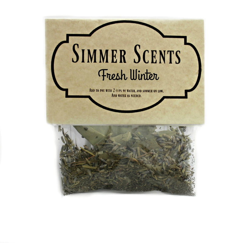 Simmer Scents-Fresh Winter-Womens Artisan USA American Made Clothing Accessories